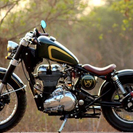 Custom Royal Enfield Motorcycle