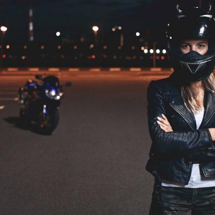 bikers look